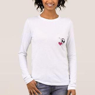 T-shirt À Manches Longues Écoutez votre coeur