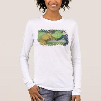 T-shirt À Manches Longues Edgar Degas | deux femmes se penchant sur une