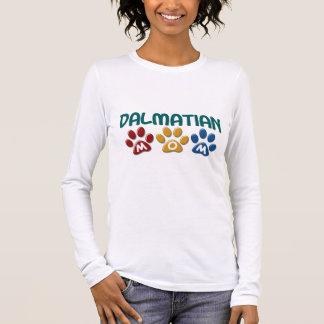 T-shirt À Manches Longues Empreinte de patte DALMATIEN 1 de maman