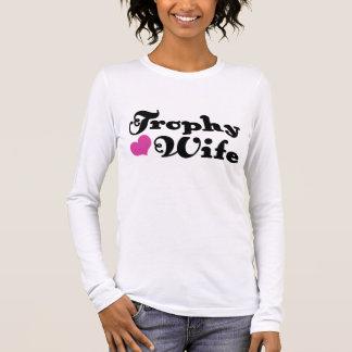 T-shirt À Manches Longues Épouse de trophée