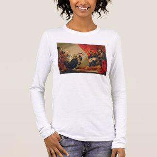 T-shirt À Manches Longues Esther devant Ahasuerus, c.1645-50 (huile sur le