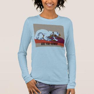 T-shirt À Manches Longues êtes-vous vers le bas ?