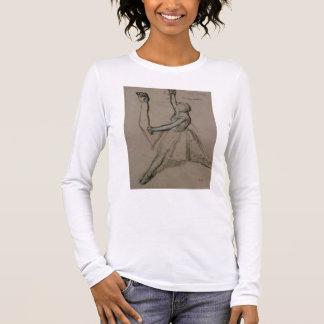 T-shirt À Manches Longues Étude d'Edgar Degas | d'un danseur