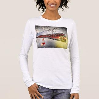 T-shirt À Manches Longues Express de Pôle Nord - train de Noël - train de