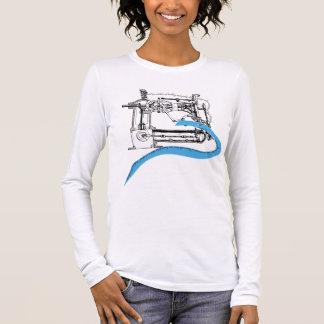 T-shirt À Manches Longues Femmes intelligentes qui cousent (couleur 2)