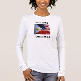 T-SHIRT À MANCHES LONGUES FILAM 3, AMÉRICAIN, PHILIPPINE