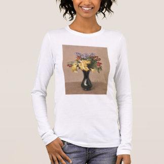 T-shirt À Manches Longues Fleurs de ressort, 1869 (huile sur la toile)