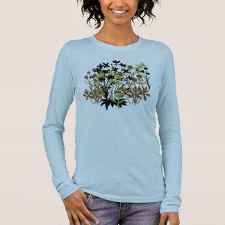 T-shirt À Manches Longues Fleurs sauvages