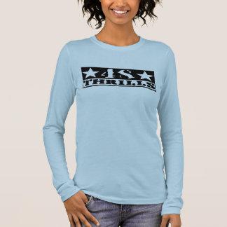 T-shirt À Manches Longues Frissons adaptés T de la douille 48 des femmes