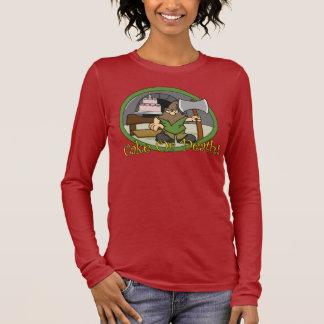 T-shirt À Manches Longues Gâteau ou chemise #3 de la mort