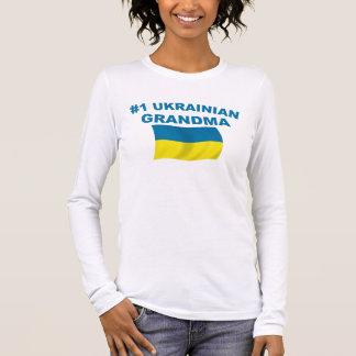T-shirt À Manches Longues Grand-maman de l'Ukrainien #1