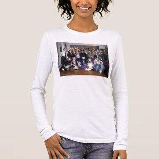 T-shirt À Manches Longues Groupe de fureteur