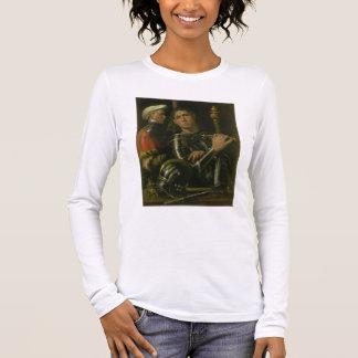 T-shirt À Manches Longues Guerrier avec le marié (huile)