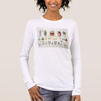 T-shirt À Manches Longues Hébreu Lévi, prêtre, roi et soldat avec sacré
