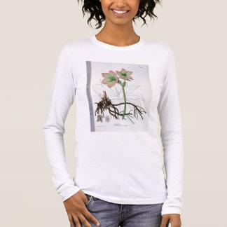 """T-shirt À Manches Longues Helleborus Niger de """"Phytographie Medicale"""" par J"""