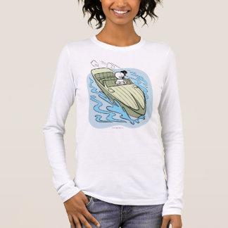 T-shirt À Manches Longues Hors-bord éffrayant