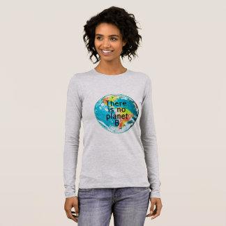 T-shirt À Manches Longues Il n'y a aucune pièce en t de longsleeve de la