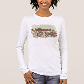 T-shirt À Manches Longues Indiens de Cheyenne sur le mouvement, 1878 (photo
