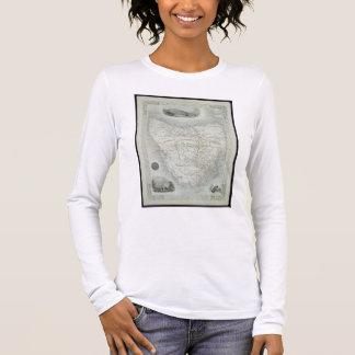 T-shirt À Manches Longues Island de Van Diemen's ou la Tasmanie, d'une série