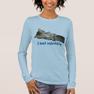 T-shirt À Manches Longues J'ai battu la stérilité