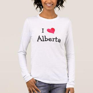 T-shirt À Manches Longues J'aime Alberta