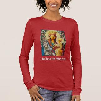 T-shirt À Manches Longues Je crois aux miracles