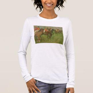 T-shirt À Manches Longues Jockeys d'Edgar Degas |, 1886-90