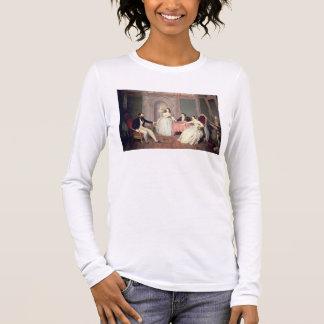 T-shirt À Manches Longues La famille de l'aile du nez de Giuseppe Sigismondo