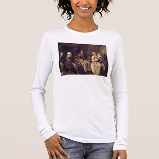 T-shirt À Manches Longues La famille rurale, 1642 (huile sur la toile)