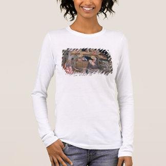 T-shirt À Manches Longues La nativité, détail de la vie de la Vierge a