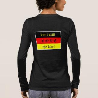 T-shirt À Manches Longues La nourriture allemande est le Wurst