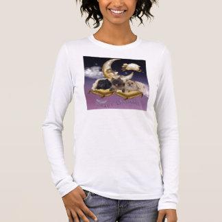 T-shirt À Manches Longues La pièce en t des femmes de Terrier de cairn de