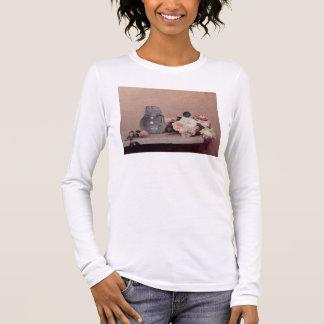 T-shirt À Manches Longues La vie toujours avec des roses, 1889 (huile sur la