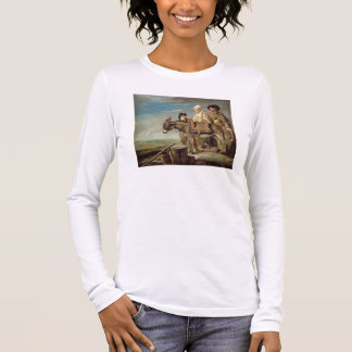 T-shirt À Manches Longues L'âne (huile sur la toile)