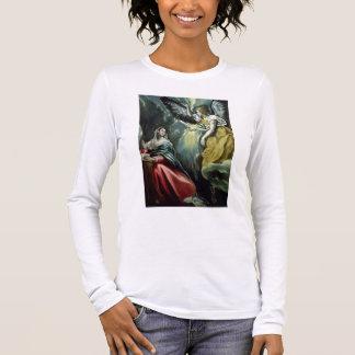 T-shirt À Manches Longues L'annonce, c.1575 (huile sur la toile)
