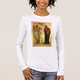 T-shirt À Manches Longues L'annonce d'Ustiug, c.1130-40 (tempera sur la