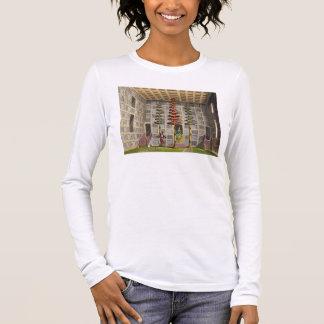 T-shirt À Manches Longues L'assistance Hall, Cochin Chine, plaquent 88 de