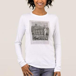 T-shirt À Manches Longues L'avatar de Matsya, ou la première incarnation de