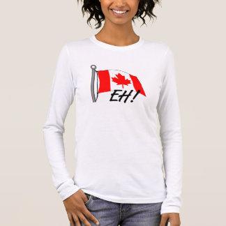 T-shirt À Manches Longues Le Canada hein