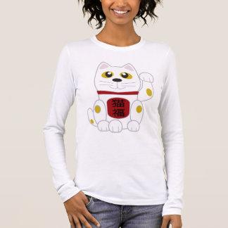 T-shirt À Manches Longues Le chat chanceux