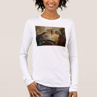T-shirt À Manches Longues Le Christ et l'adultère, 1751 (huile sur la toile)