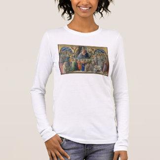 T-shirt À Manches Longues Le couronnement de la Vierge, 1441-7 (tempera sur