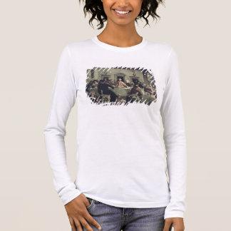 T-shirt À Manches Longues Le dernier dîner (huile sur la toile) 2