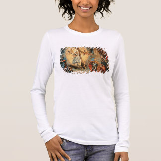 T-shirt À Manches Longues Le doge Grimani se mettant à genoux avant la foi