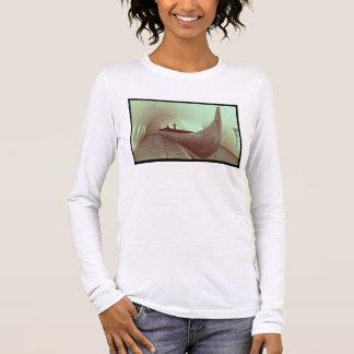 T-shirt À Manches Longues Le drakkar de Gokstad (bois)