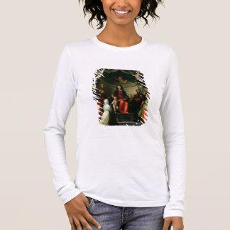 T-shirt À Manches Longues Le mariage mystique de St Catherine de Sienne avec
