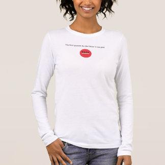 T-shirt À Manches Longues Le meilleur présent pour la future chemise de