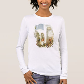 T-shirt À Manches Longues Le palais de Khan de Bakou, péninsule d'Apsheron