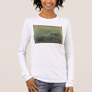 T-shirt À Manches Longues Le passage des Andes en 1817 (huile sur la toile)