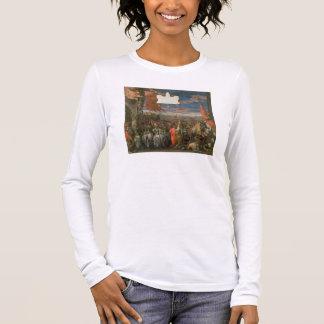 T-shirt À Manches Longues Le renvoi d'Andrea Contarini de doge victorieux